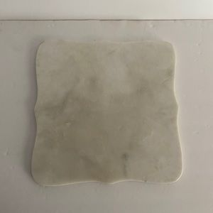 Williams Sonoma small white marble cutting board